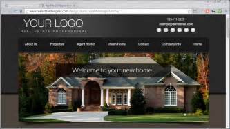 home design websites 48 mobile friendly real estate website templates available real estate designer
