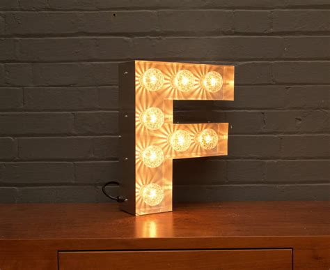 light up letter light up marquee bulb letters f by goodwin goodwin