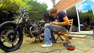 Cafe Racer Build Part 12  Wiring The Electrics  78 Suzuki