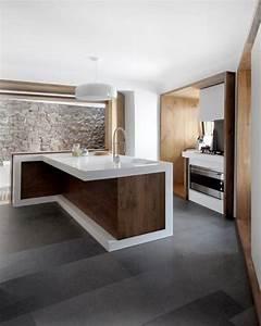 La Cucina Leer : 100 idee cucine moderne in legno bianche nere colorate ~ Watch28wear.com Haus und Dekorationen