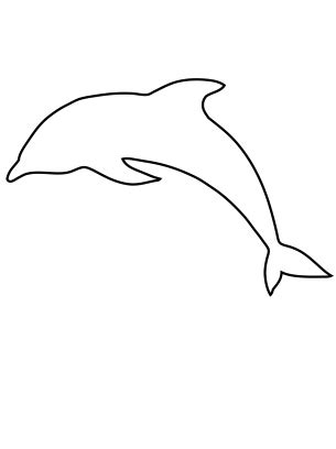 printable dolphin pictures   clip art