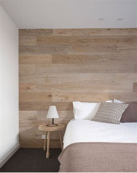 chambre bois chambre deco epuree mur bois picslovin