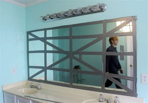 how to remove bathroom mirror with clips quick tips and