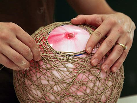 string pendant l diy diy make hemp string pendant ls
