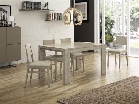 comedores modernos muebles mesa de cristal extensible