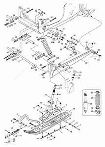 Ski Doo 2000 Formula - Iii 700 R  Front Suspension