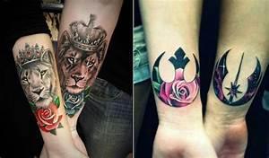 Tatouage Couple Original : tatouage king lion ~ Melissatoandfro.com Idées de Décoration