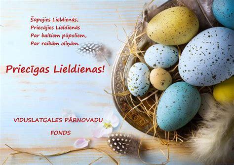 Priecīgas Lieldienas! | Viduslatgales pārnovadu fonds