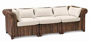 fun upscale sofas seagrass three piece sofa pottery barn With pottery barn seagrass sectional sofa