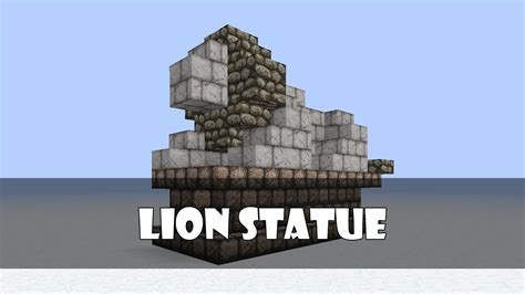 tutorial compact lion statue youtube
