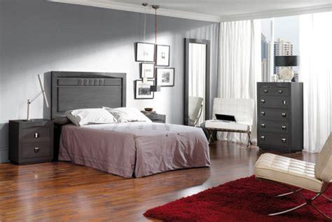 chambre gris foncé déco chambre parquet fonce