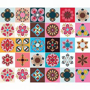 Stickers Carreaux De Ciment Cuisine : stickers carrelage carreaux de ciment 15 stickers ~ Melissatoandfro.com Idées de Décoration