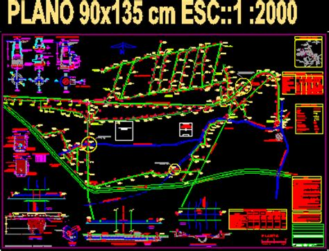 executive planeof net sanitary sewer dwg full project