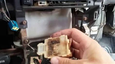diy replace fan blower switch on 1995 Toyot pickup dx 4x4