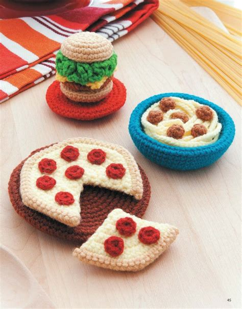 crochet cuisine box crochet leisurearts com