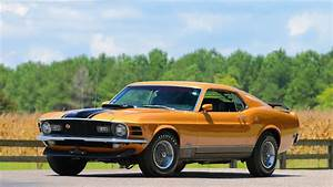 1970 Ford Mustang Mach 1 Fastback 428 SCJ, MCA Concours Award Winner | Lot F95.1 | Kansas City ...