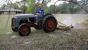 1943 Ford 2n Tractor With 6ft Finish Mower