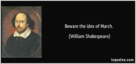 beware  ides  march