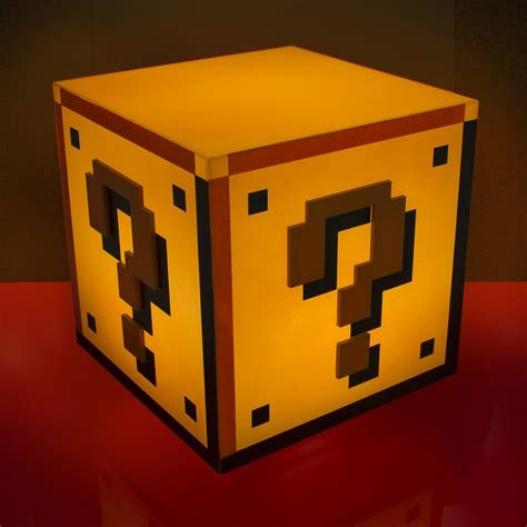Mario Bros Question Block L by Le D Ambiance Mario Bros Question Block