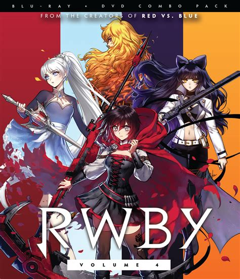 rwby blu raydvd volume