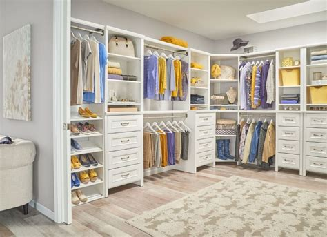 bedroom closet design ideas our new impressions white finish can give your master 14200