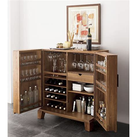Crate And Barrel Victuals Bar Cabinet by Marin Bar Cabinet Bar Cabinets Crate And Barrel