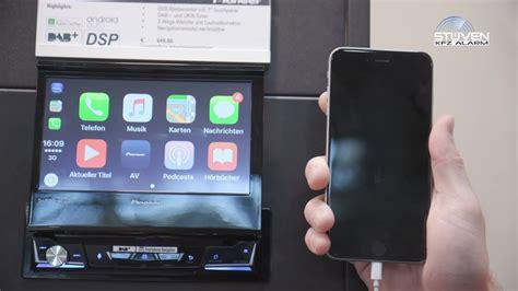 pioneer avh z7000dab pioneer avh z7000dab ausfahrbarer 1din monoceiver carplay waze android auto waze