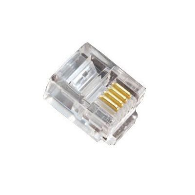 ce rj11 6p4c pack of 100 comms express