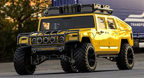 What Would A Modern 2025 Hummer H1 Look Like? Pro Car ...