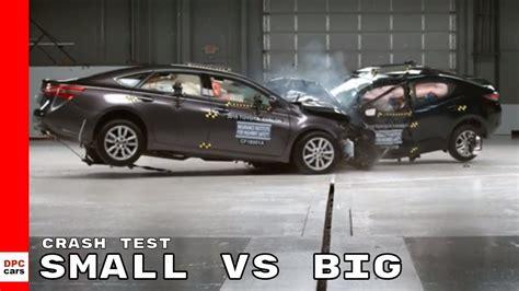 Small Car Vs Big Car Crash Test
