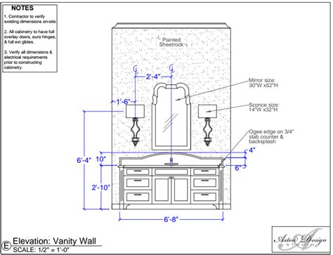 60 inch vanity bathroom sconces where should they go designed