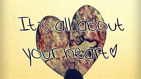 Mindy Gledhillall About Your Heart♥ Lyrics Hd Youtube