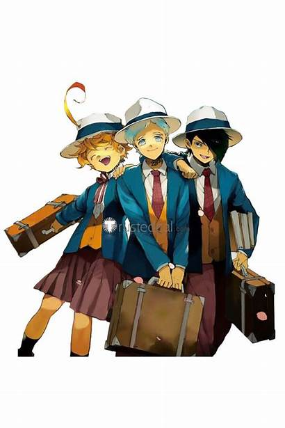 Neverland Promised Norman Emma Ray Yakusoku Uniform