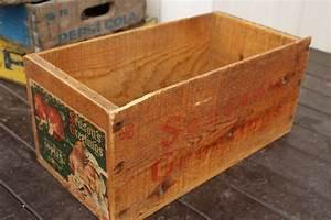 りんごの木箱/Wood Box - Recoltz Webshop