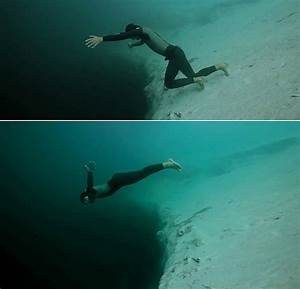 Nightmare Or Dream? 'Underwater Skydive' Into 663-Foot ...