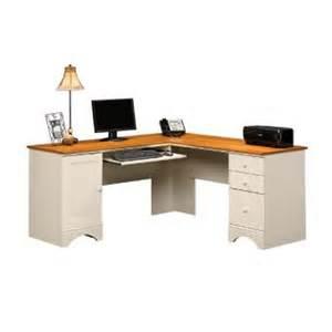 wood computer desk sauder appleton writing desk reliable