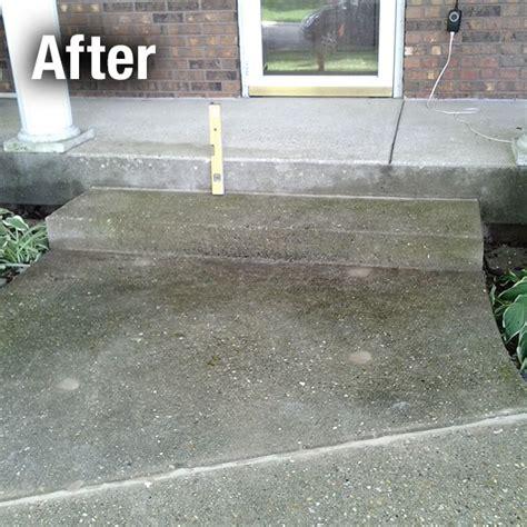 concrete steps repair concrete steps leveling charleston