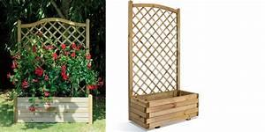 Jardinière Avec Treillage : bac jardipolys lierre arc 80 treillage ~ Melissatoandfro.com Idées de Décoration