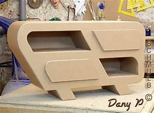 Meuble En Carton Design : meuble video fabriqu sur mesure ~ Melissatoandfro.com Idées de Décoration