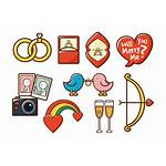 Vector Marry Elements Icons Married Ring Vecteezy