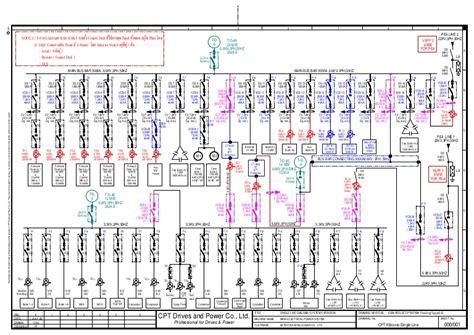 mpv single line and circuit diagram