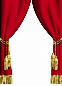 Red curtain transparent frame frame it pinterest red for Blue theatre curtains png