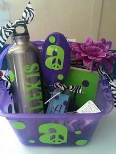 1000 ideas about Teen Gift Baskets on Pinterest