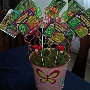 DIY Gift Basket Ideas Lottery Bouquet pic for 25