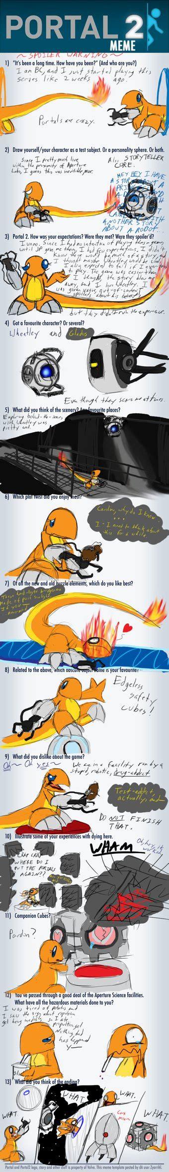 Portal 2 Meme By Blazingcoral On Deviantart