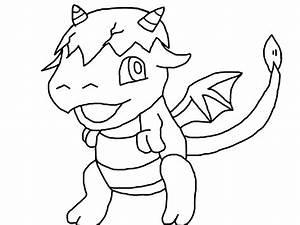 Cute Baby Dragon Drawings | Car Interior Design