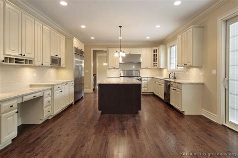 kitchen floor ideas with dark cabinets pictures of kitchens traditional two tone kitchen