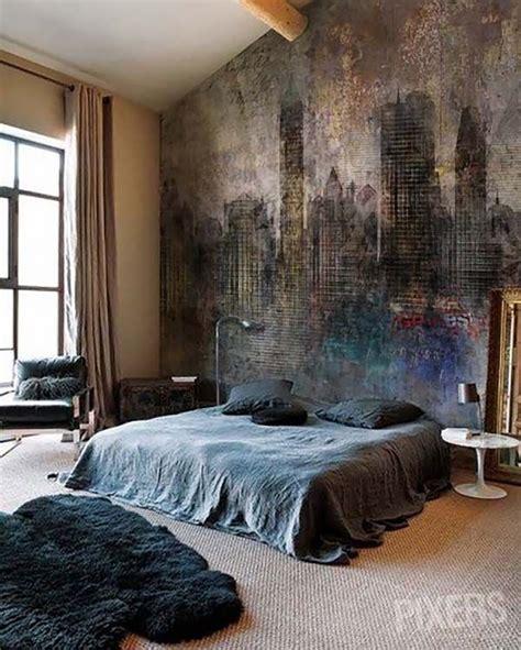 sleek  sexy masculine bedroom design ideas