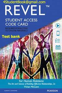 Test Bank For Human Relations  The Art And Science Of