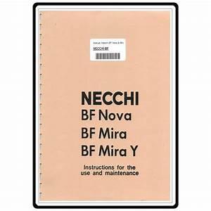 Instruction Manual  Necchi Bf Nova   Sewing Parts Online